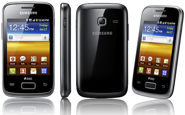 Samsung Galaxy Y Duos S6102 - description and parameters