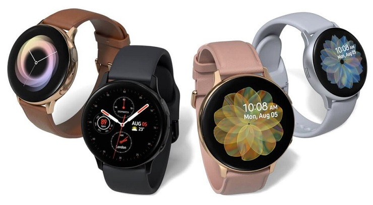 Samsung Galaxy Watch Active2 - description and parameters