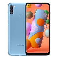 Samsung Galaxy A11 supports frequency bands GSM ,  HSPA ,  LTE. Official announcement date is  March 13 2020. The device is working on an Android 10.0 with a Octa-core 1.8 GHz processor and
