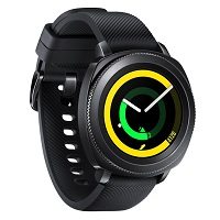 Samsung Gear Sport doesn't have a GSM transmitter, it cannot be used as a phone. Official announcement date is  August 2017. The device is working on an Tizen-based wearable platform 3.0 wi