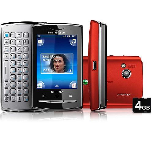 Sony Ericsson Xperia X10 Mini Pro Description And Parameters