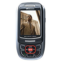 VK Mobile VK4500 supports GSM frequency. Official announcement date is  fouth quarter 2005. VK Mobile VK4500 has 100 MB of built-in memory. The main screen size is 2.0 inches, 31 x 39 mm  w