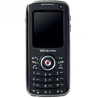 VK Mobile VK7000 supports frequency bands GSM and UMTS. Official announcement date is  March 2006. The main screen size is 1.8 inches, 28 x 35 mm  with 176 x 220 pixels  resolution. It has