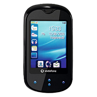 Vodafone 541 supports GSM frequency. Official announcement date is  November 2009. The phone was put on sale in November 2009. Vodafone 541 has 5 MB of built-in memory. The main screen size