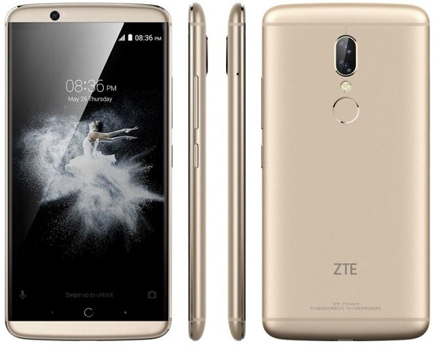 ZTE Axon 7s - description and parameters
